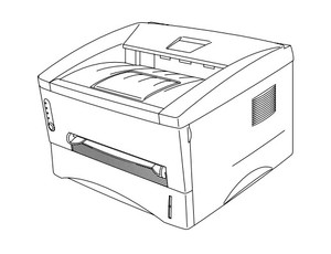 Brother Laser Printer HL-1030 / HL-1240 / HL-1250 / HL-1270N Parts Reference List