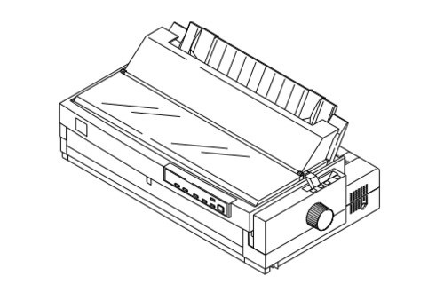 Epson LQ-2070 Terminal Printer Service Repair Manual