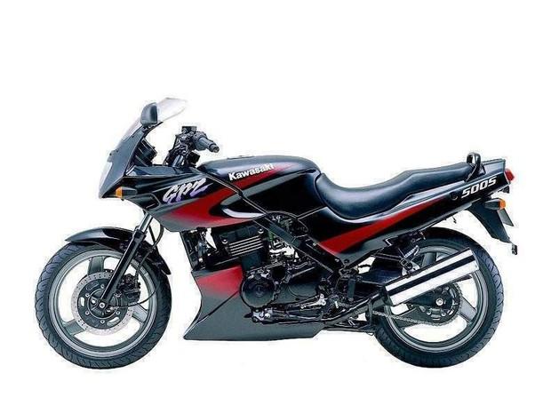 KAWASAKI EX500, GPZ500S MOTORCYCLE SERVICE REPAIR MANUAL 1987-1993 DOWNLOAD