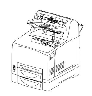 FUJI XEROX DocuPrint 240A/340A monochrome laser printer Service Repair Manual