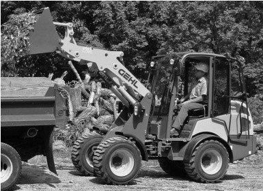 GEHL AL540 Articulated Loader Parts Manual