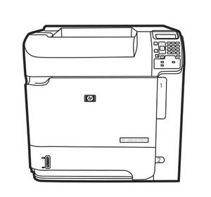 HP LaserJet P4010, P4510 Series Printers Service Repair Manual