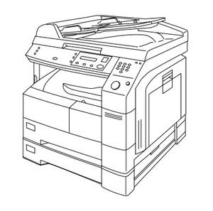 Panasonic DP-1510P/DP-1810P/DP-1810F/DP-2010E Digital Imaging Systems Service Repair Manual