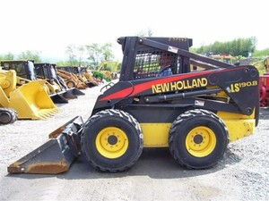 NEW HOLLAND LS180.B, LS185.B, LS190.B SKID STEER LOADER SERVICE REPAIR MANUAL