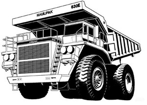 KOMATSU 630E DUMP TRUCK SERVICE REPAIR MANUAL + OPERATION & MAINTENANCE MANUAL