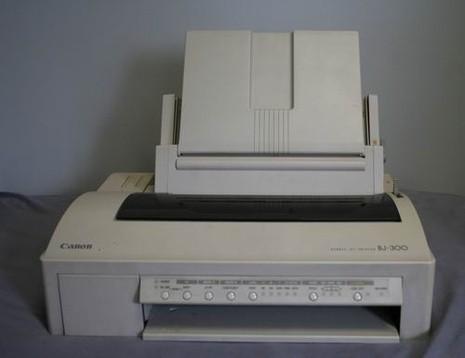 Canon BJ-300, BJ-330 B/W Inkjet Printer Service Repair Manual