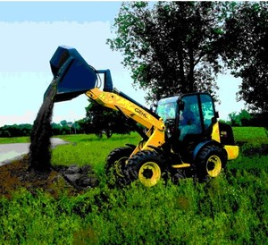 GEHL 418 ALL WHEEL STEER LOADER PARTS MANUAL