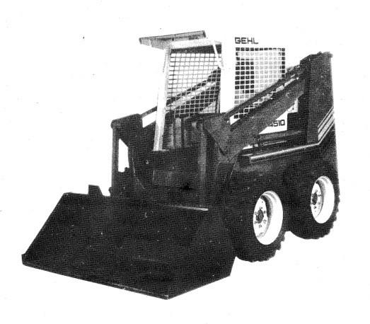 GEHL 4510 Skid Loader Parts Manual