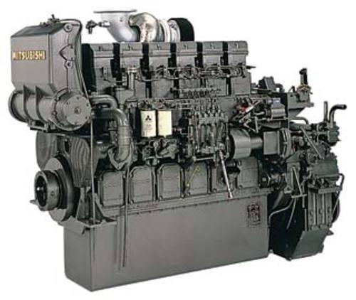 MITSUBISHI S6R, S6R2 DIESEL ENGINES SERVICE REPAIR MANUAL