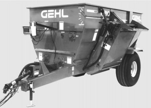GEHL 8210 Mixer Feeder Parts Manual