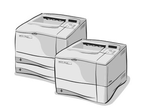 HP LaserJet 4000, 4050 Series Printers Service Repair Manual