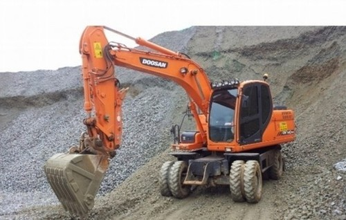 DOOSAN DX140W / DX160W WHEEL EXCAVATOR SERVICE REPAIR MANUAL