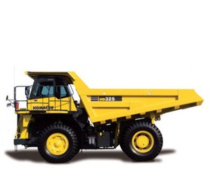 KOMATSU HD325-5 DUMP TRUCK SERVICE REPAIR MANUAL + OPERATION & MAINTENANCE MANUAL