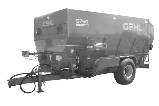 GEHL 5450/5510/5575/5750/5950 4-Auger Mixer Feeders Parts Manual