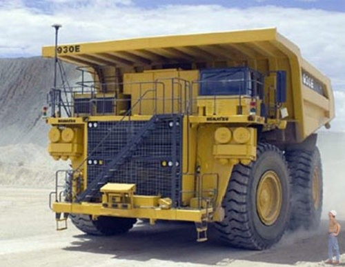 KOMATSU 930E DUMP TRUCK SERVICE REPAIR MANUAL + OPERATION & MAINTENANCE MANUAL