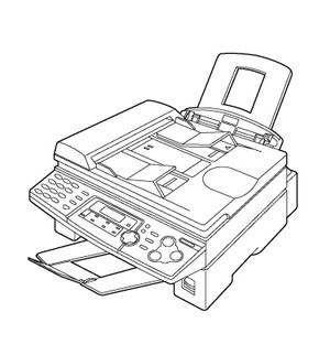 Panasonic KX-FLB758RU Multi-Function Laser Fax Service Repair Manual
