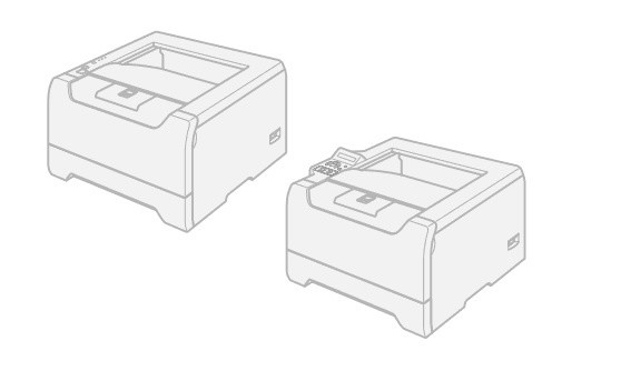 Brother HL-5240 / HL-5250DN / HL-5270DN / HL-5280DW / HL-5250DNT Laser Printer Parts Reference List