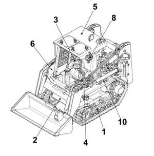 Takeuchi TL120 Crawler Loader Parts Manual