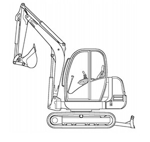 GEHL 602 Mini-excavator Parts Manual
