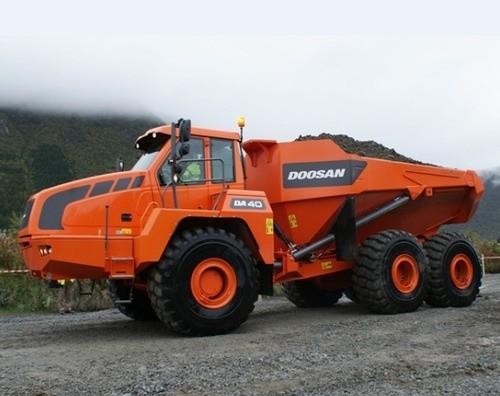 Doosan DA40 Articulated Dump Truck Service Repair Manual