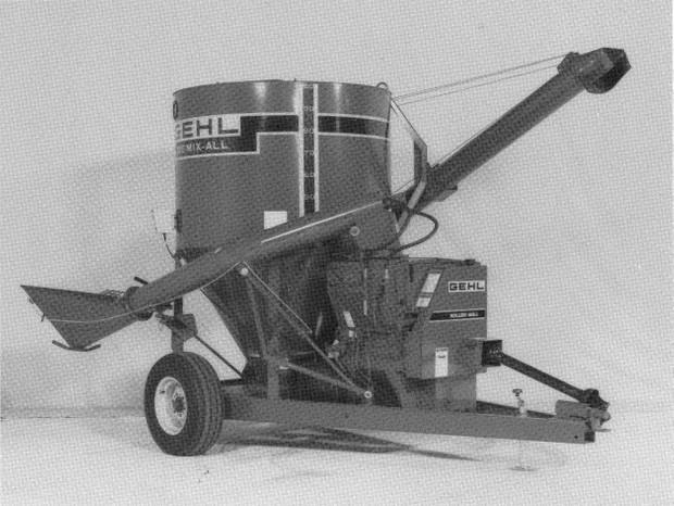 GEHL 125 Roller Mill Parts Manual