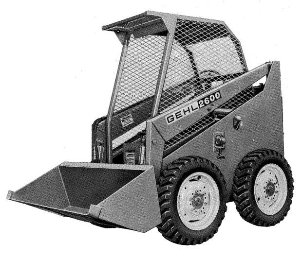 GEHL HL2600 Skid Loader Parts Manual - Digital Download on