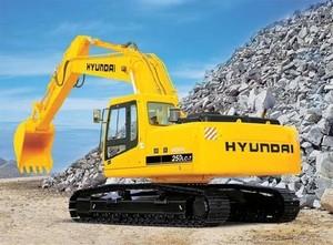 HYUNDAI R250LC-7 CRAWLER EXCAVATOR SERVICE REPAIR MANUAL