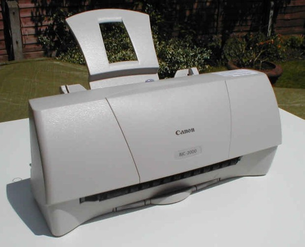 Canon BJC-2000 Inkjet Printer Service Manual + Parts Catalog