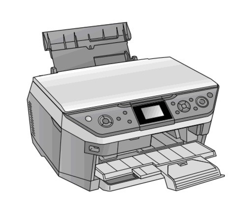Epson Stylus Photo RX680/RX685/RX690 Color Inkjet Printer Service Repair Manual