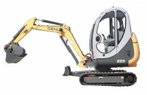 GEHL 223 Compact Excavator Parts Manual