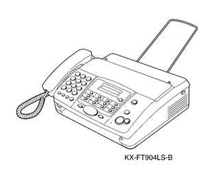 Panasonic KX-FT902LS-B, KX-FT904LS-B Personal Facsimile Service Repair Manual