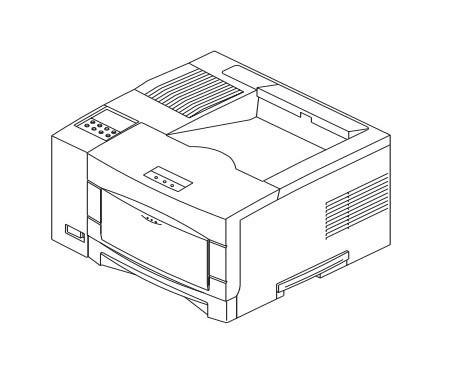 Xerox DocuPrint N17 Network Laser Printer Service Repair Manual