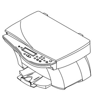 Samsung SCX-1100 INKJET PRINTER (MFP) Service Repair Manual