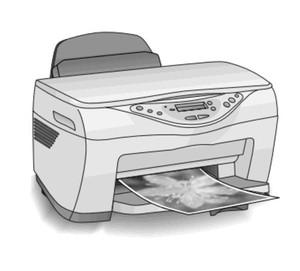 Epson Stylus CX5100/CX5200/CX5300/CX5400 All-In-One (Scanner/Printer/Copier) Service Repair Manual