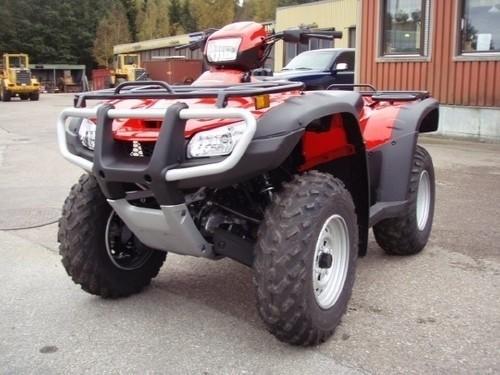 HONDA TRX500 / TRX500FE / TRX500FPE FOURTRAX FOREMAN ATV SERVICE MANUAL 2005-2011 DOWNLOAD