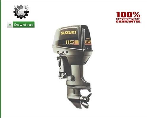 Suzuki outboard dt115 service repair manual.