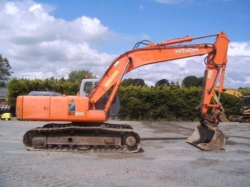 hitachi ex200 5 excavator service repair manual rh sellfy com Hitachi EX200LC Hitachi EX 200 Specifications