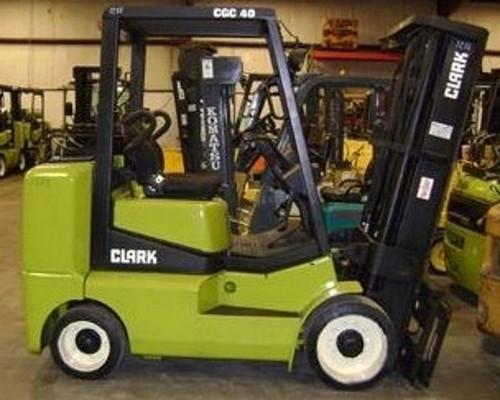 CLARK CGC 40, CGC 70, CGP 40, CGP 70 FORKLIFT SERVICE REPAIR MANUAL