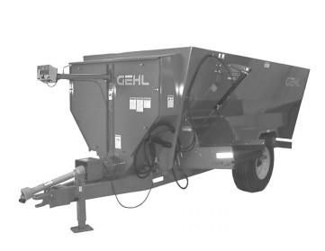 GEHL 5205/5305/5380 3-Auger Mixer Feeders Parts Manual