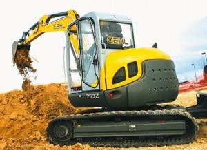 GEHL 753Z Compact Excavator Parts Manual