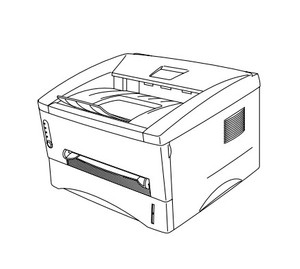 Brother Laser Printer HL-1230 / HL-1440 / HL-1450 / HL-1470N Parts Reference List