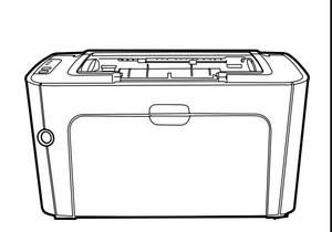 HP LaserJet P1500 Series printer Service Repair Manual