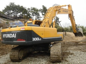 HYUNDAI R300LC-7 CRAWLER EXCAVATOR SERVICE REPAIR MANUAL