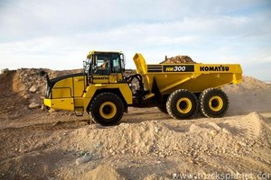 KOMATSU HM300-3 ARTICULATED DUMP TRUCK SERVICE REPAIR MANUAL
