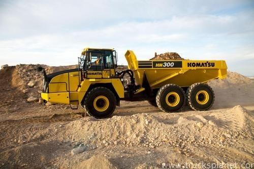 KOMATSU HM300-3 ARTICULATED DUMP TRUCK SERVICE REPAIR MANUAL