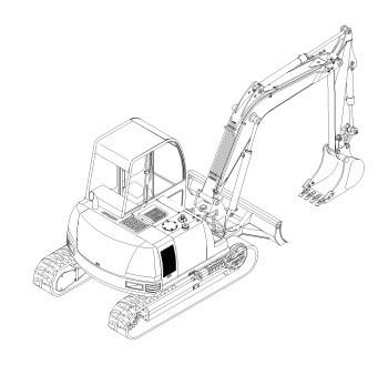 GEHL 802 Mini-excavator Parts Manual
