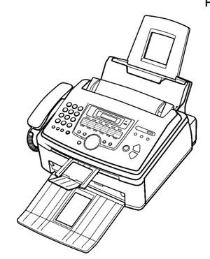 Panasonic KX-FL513RU High Speed Laser Fax and Copier Service Repair Manual