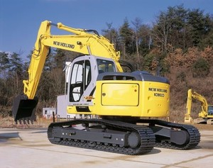 NEW HOLLAND KOBELCO E135B CRAWLER EXCAVATOR SERVICE REPAIR MANUAL