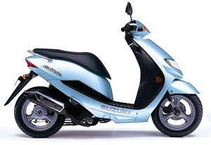 Suzuki Estilete UF50, UF50Z Scooter Service Repair Manual 2000-2003 Download