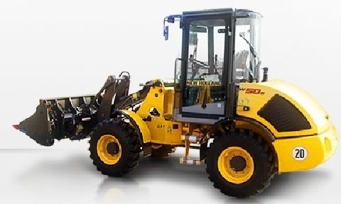 NEW HOLLAND W50, W60, W70, W80 COMPACT WHEEL LOADER SERVICE REPAIR MANUAL